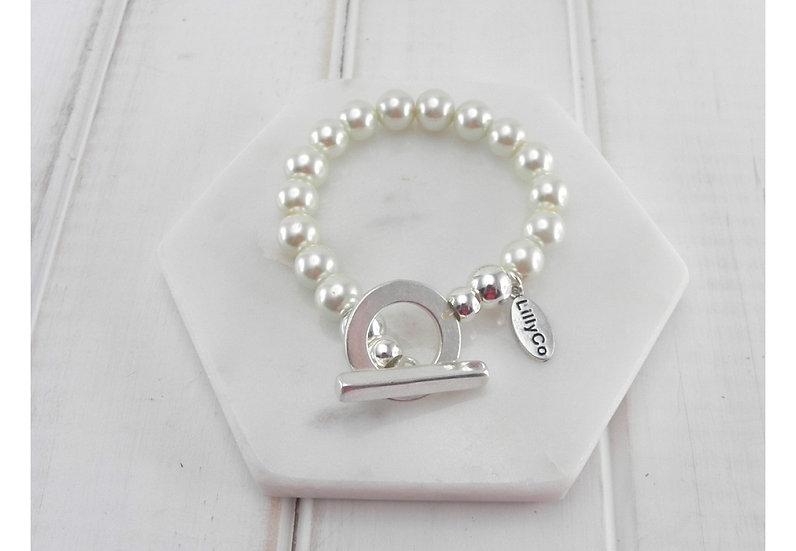 Pearl Bracelet - LillyCo