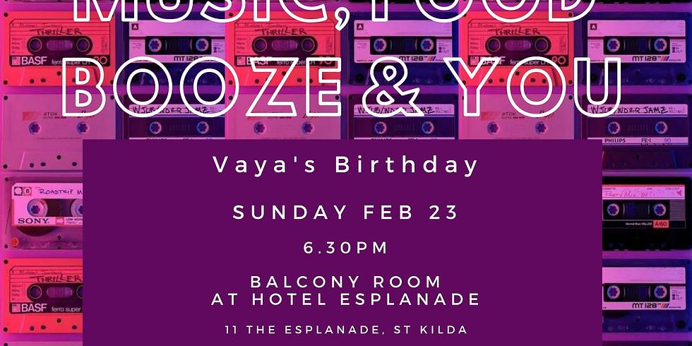 Vaya's Birthday