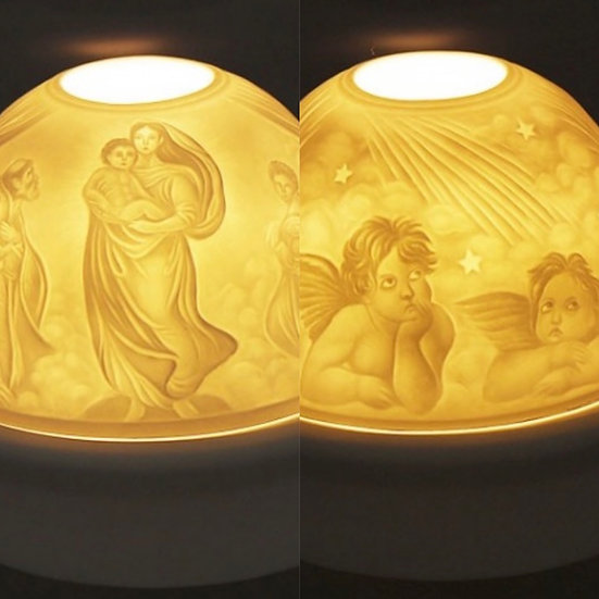 Mary & angels LED light