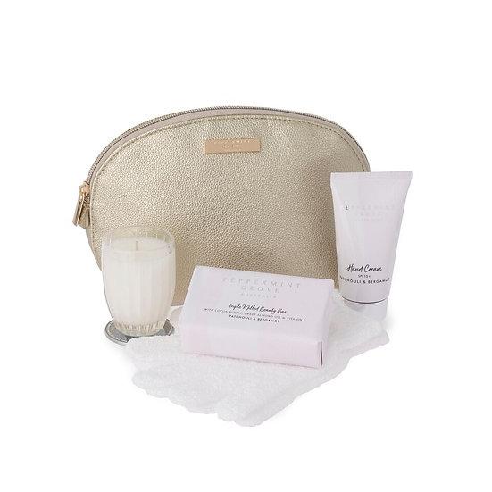 Beauty Bag Patchouli & Bergamot - Peppermint Grove Australia