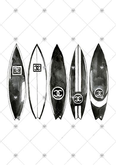 Luxury Surfboards - unframed (less watermark)