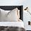 Nudey Cushion Mayvn Interiors Fringe - 70mm x 50mm