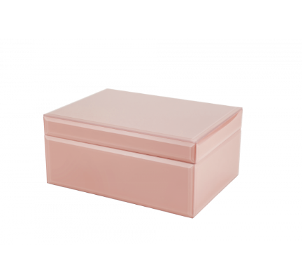 pink blush jewellery box