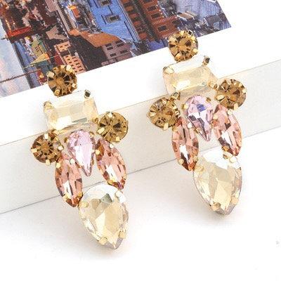 Phillipa crystal drop earrings