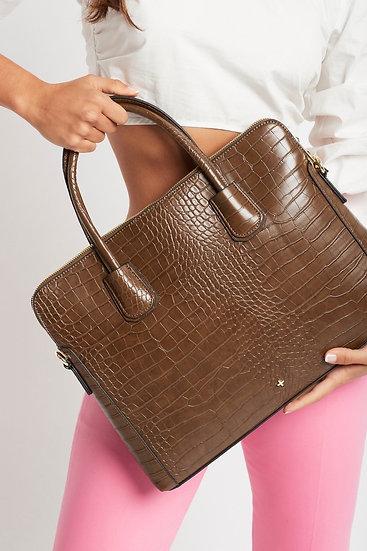 Hustle laptop bag by Peta + Jain
