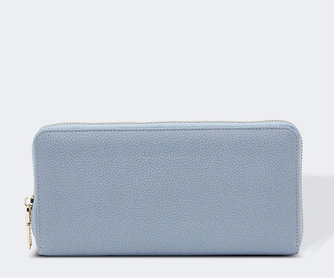 Isla wallet - Dusty Blue