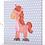 Mini Canvas - Amelia the Horse - 20 x 20