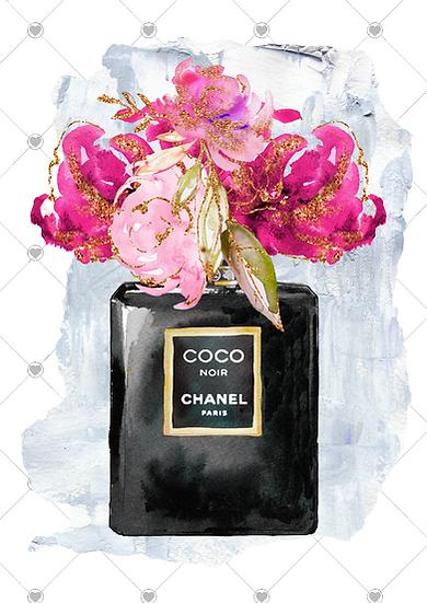 parisian print perfume