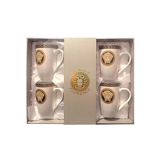 Medusa mugs - Black /Gold