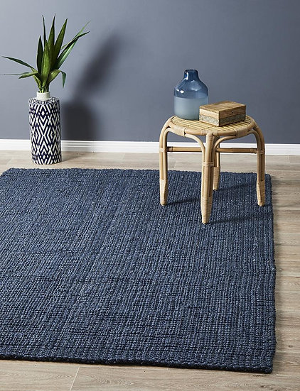 Atrium Barker Navy Rug - 270X180CM - Rectangle