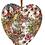 Thumbnail: Hanging Ceramic Heart - Boho