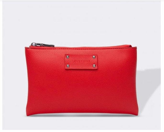 Farrah Clutch Red