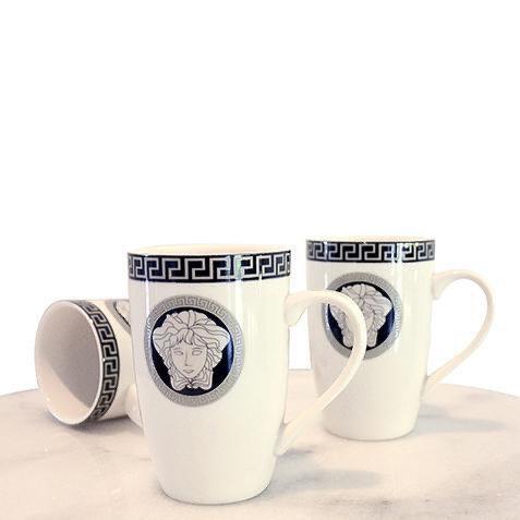 Medusa mugs Black / Silver