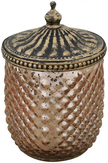 antique gold candle