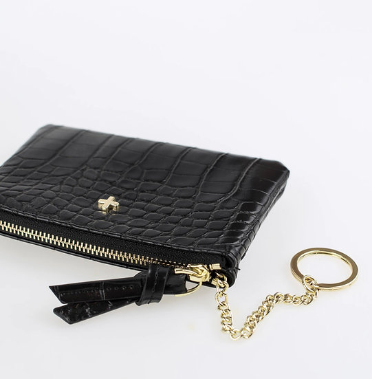 Bardot coin card purse with key ring