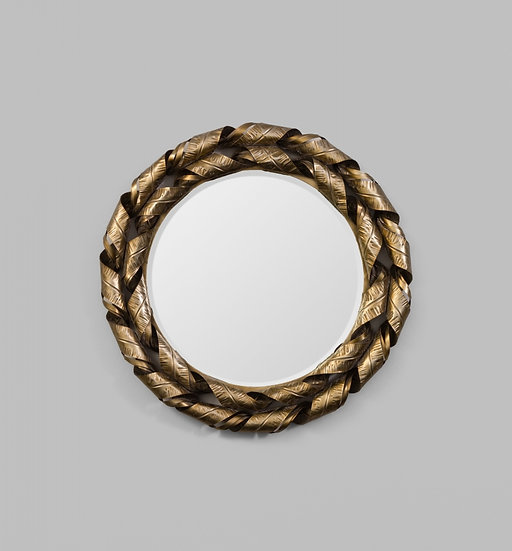 Ornate scroll mirror