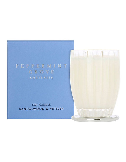 Sandalwood & Vetiver Candle Large