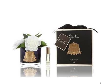 Côte Noire Perfumed Natural Touch Triple Gardenia in Black