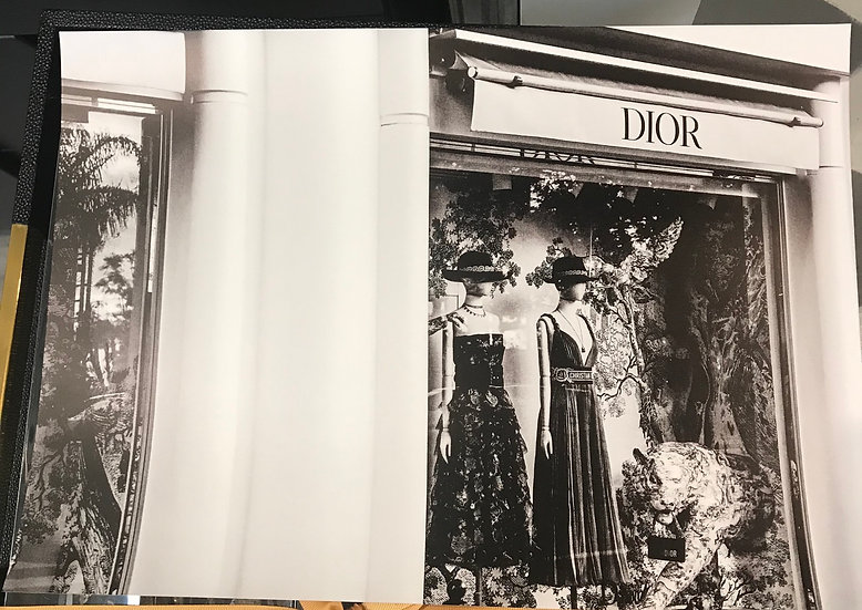 A3 Dior store - unframed