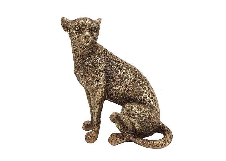 resin leopard