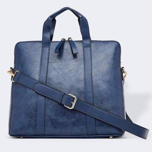 Rhodes lizard laptop bag