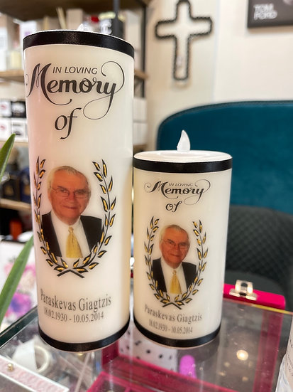 In memory candle - Small
