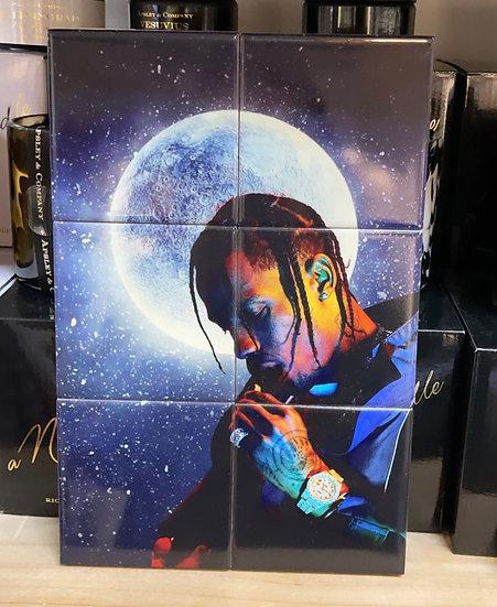 Travis Scott tile art work