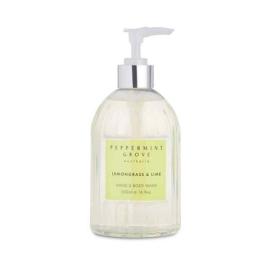 Lemongrass and Lime Hand and Body Wash