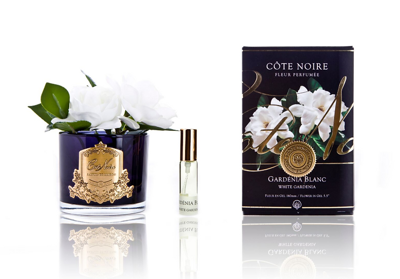 Double Gardenia black & gold - natural touch