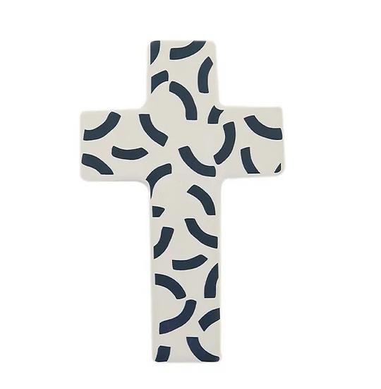 navy blue cross