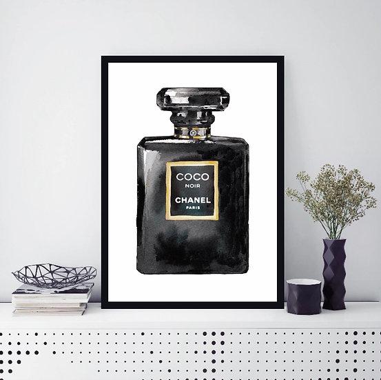 perfume bottle wall art