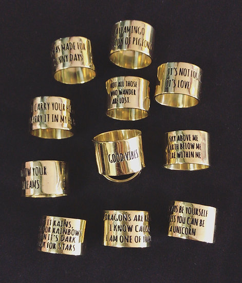wide band rings