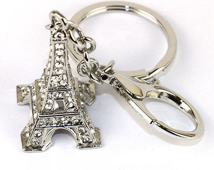 eifel tower key ring