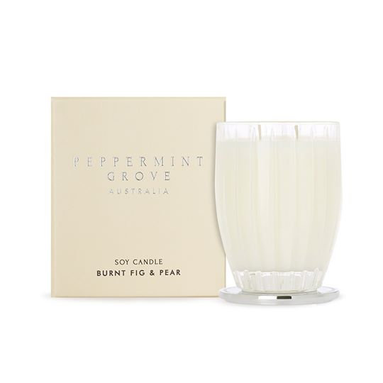 Peppermint Grove Candle - Burnt Fig and Pear (Large)
