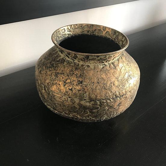 Gold Hammered Bowl