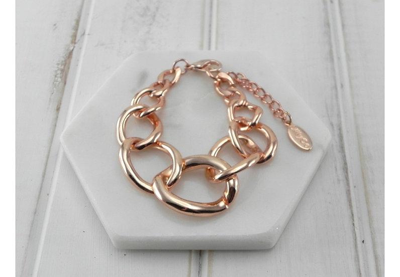 Chunky Rose Gold Bracelet