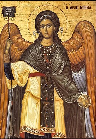 XL candle - Arch Angel Gabriel