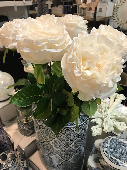 Faux cabbage rose