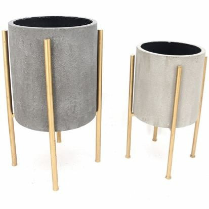 Nordic Pot Planters - Set of Two