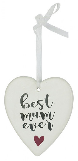 Hanging Heart Best Mum