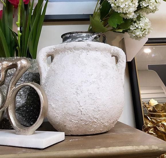 Pompeii ceramic urn vase
