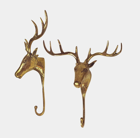 Gold hook brass - Stag