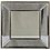 Thumbnail: Square beveled mirror - Antique style