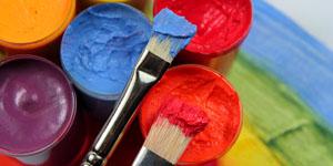 Kinder Malen nach Vorlage