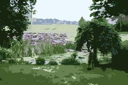 Ihr Landschaftsfoto zum Malen