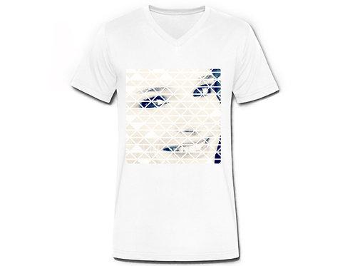 T-Shirt Vintage Druck, Mann
