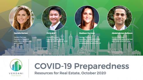COVID-19 Preparedness for Real Estate