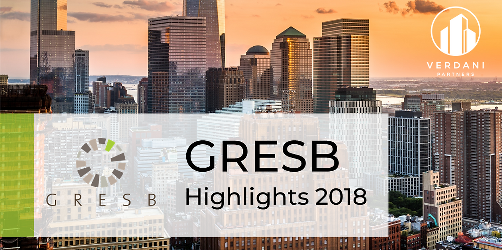GRESB Highlights for 2018 from Verdani Partners