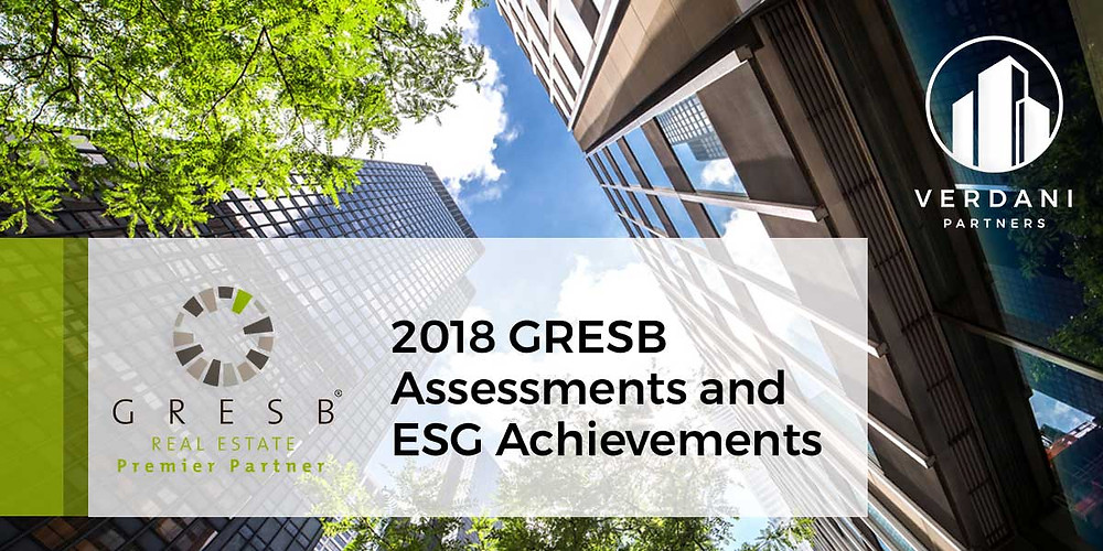 Verdani clients continue to improve and lead on the 2018 GRESB Assessment, with two clients ranking as global leaders in resilience.