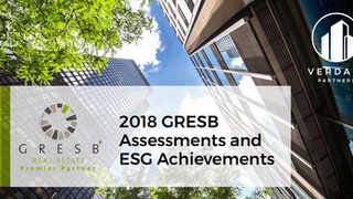 Verdani Clients Continue to Improve and Lead on the 2018 GRESB Assessment with Two Clients Ranking a